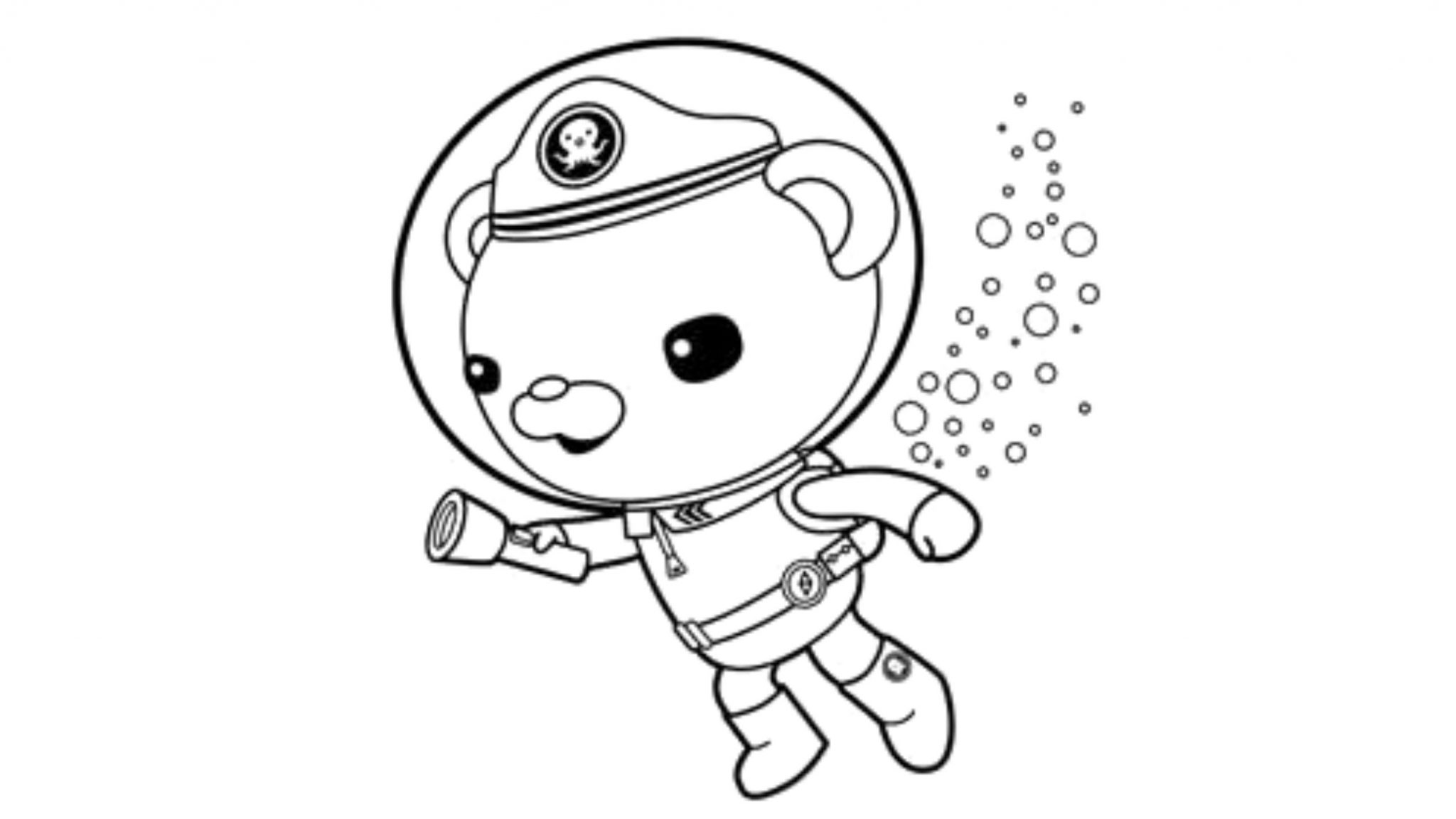gallery of octonauts coloring pages for your kids activity