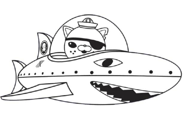 print download octonauts coloring pages for your kid s activity