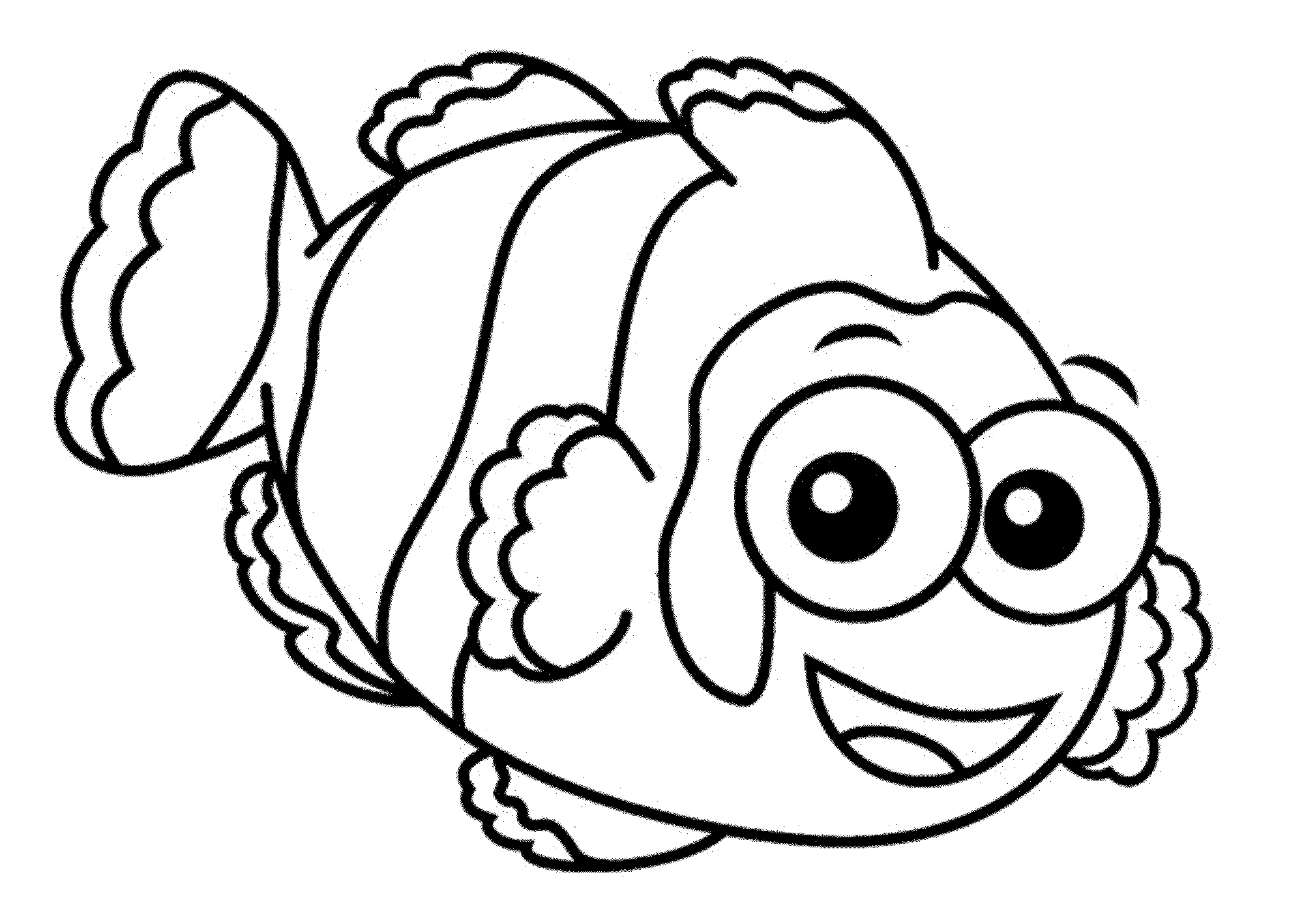 fish coloring pages to print - photo#16