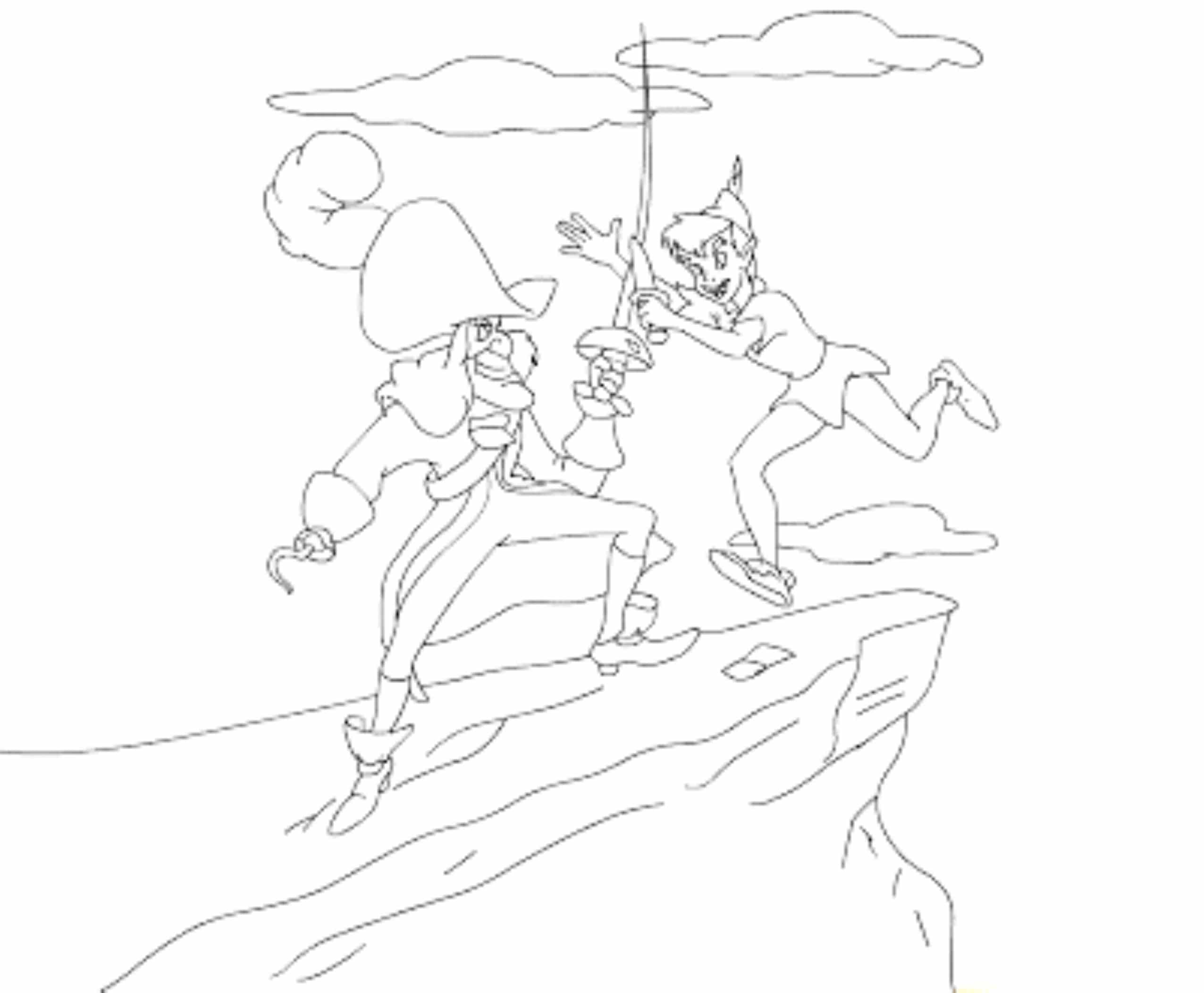 peter pan coloring pages captain hook bestappsforkids com