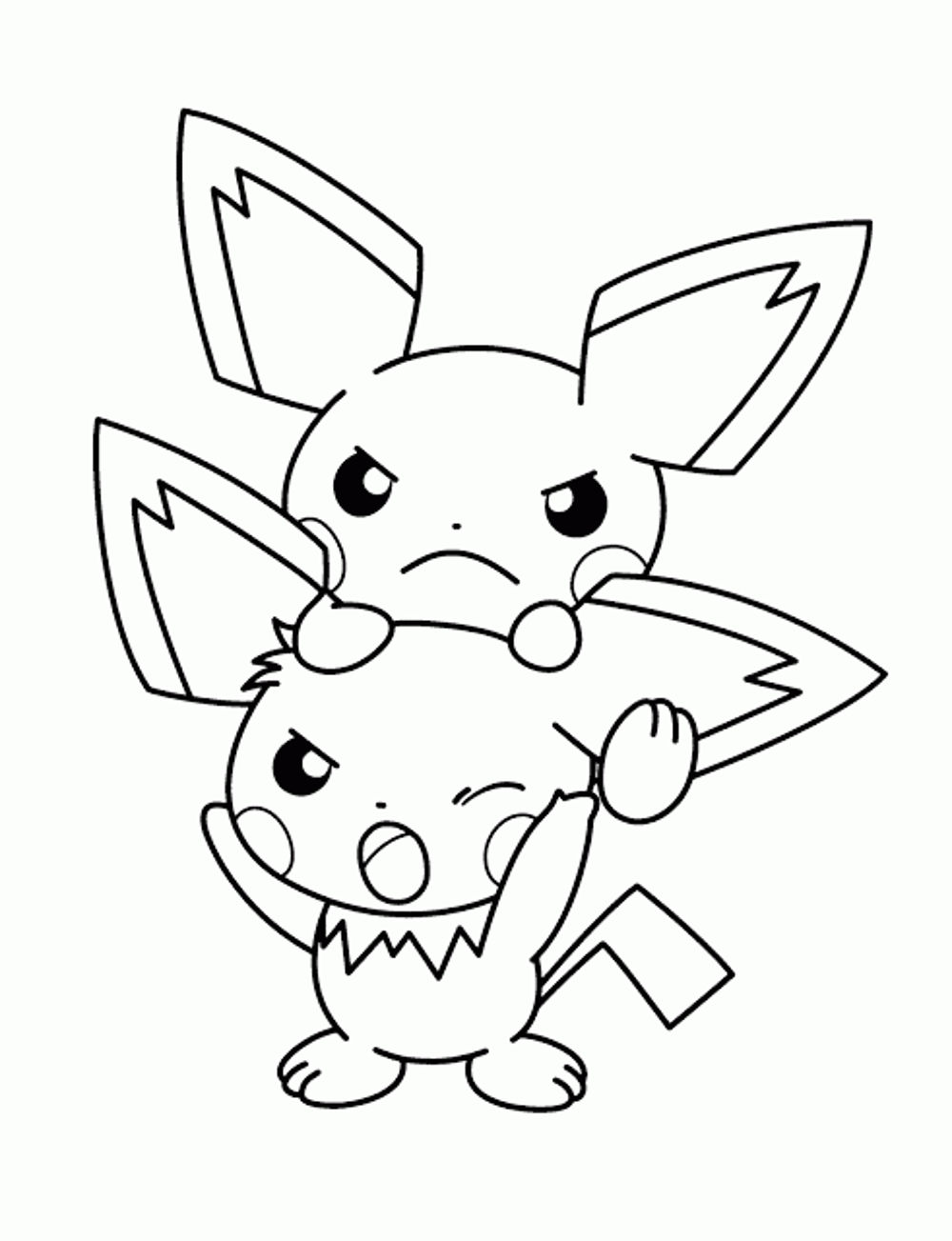 pokemon-coloring-pages-eevee | | BestAppsForKids.com