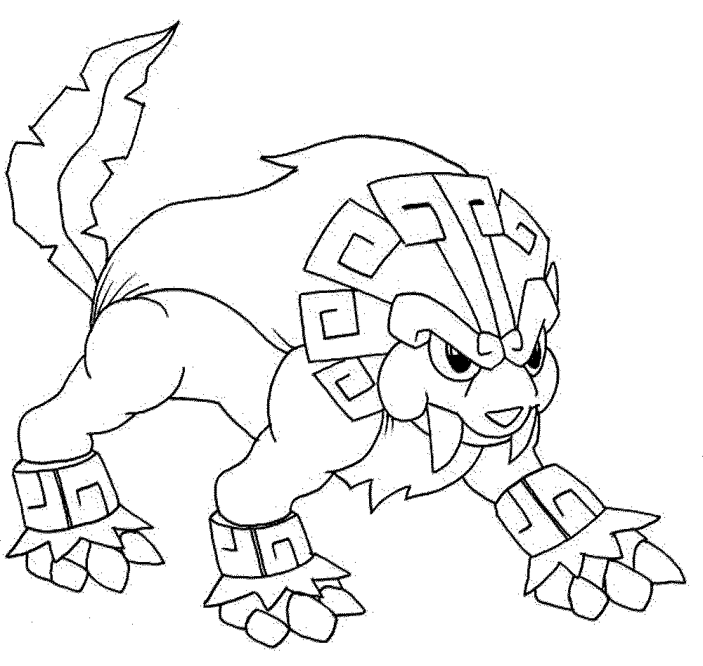 pokemon coloring pages legendaries printables - Coloring Pages Pokemon Characters