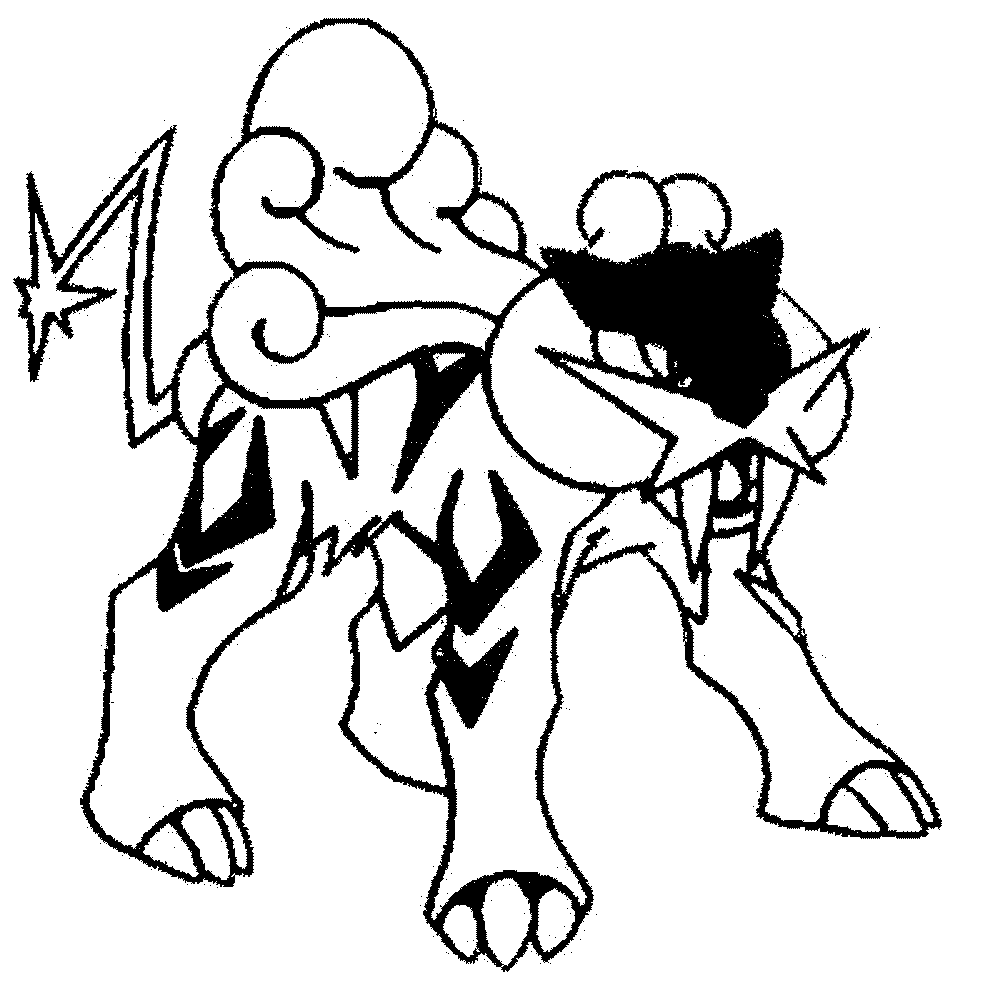Pokemon Coloring Pictures Black And White Bltidm