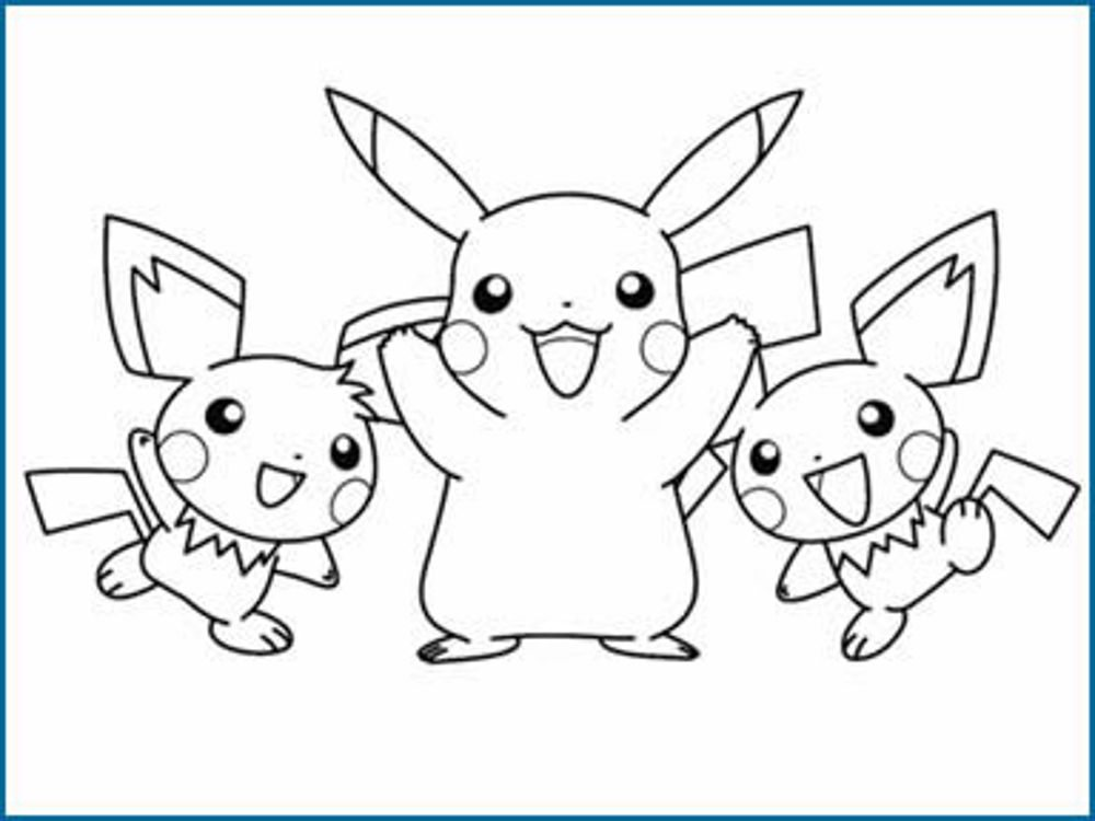 pokemon coloring pages printable - Pokemon Coloring Pages Printable