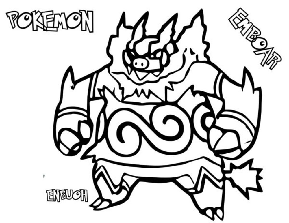 Print & Download - Pokemon Coloring Pages for Your Boys