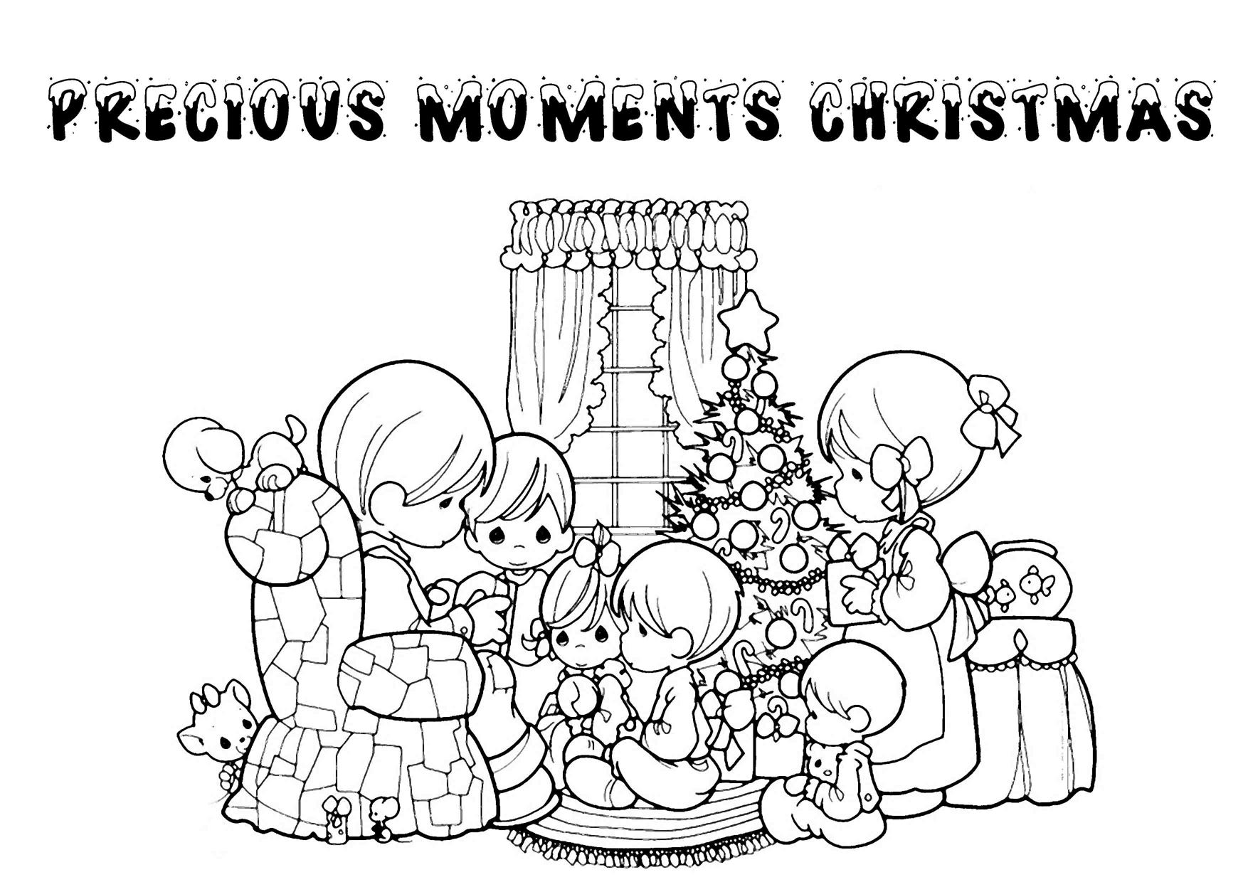 Gallery Of Printable Christmas Coloring Pages For Kids