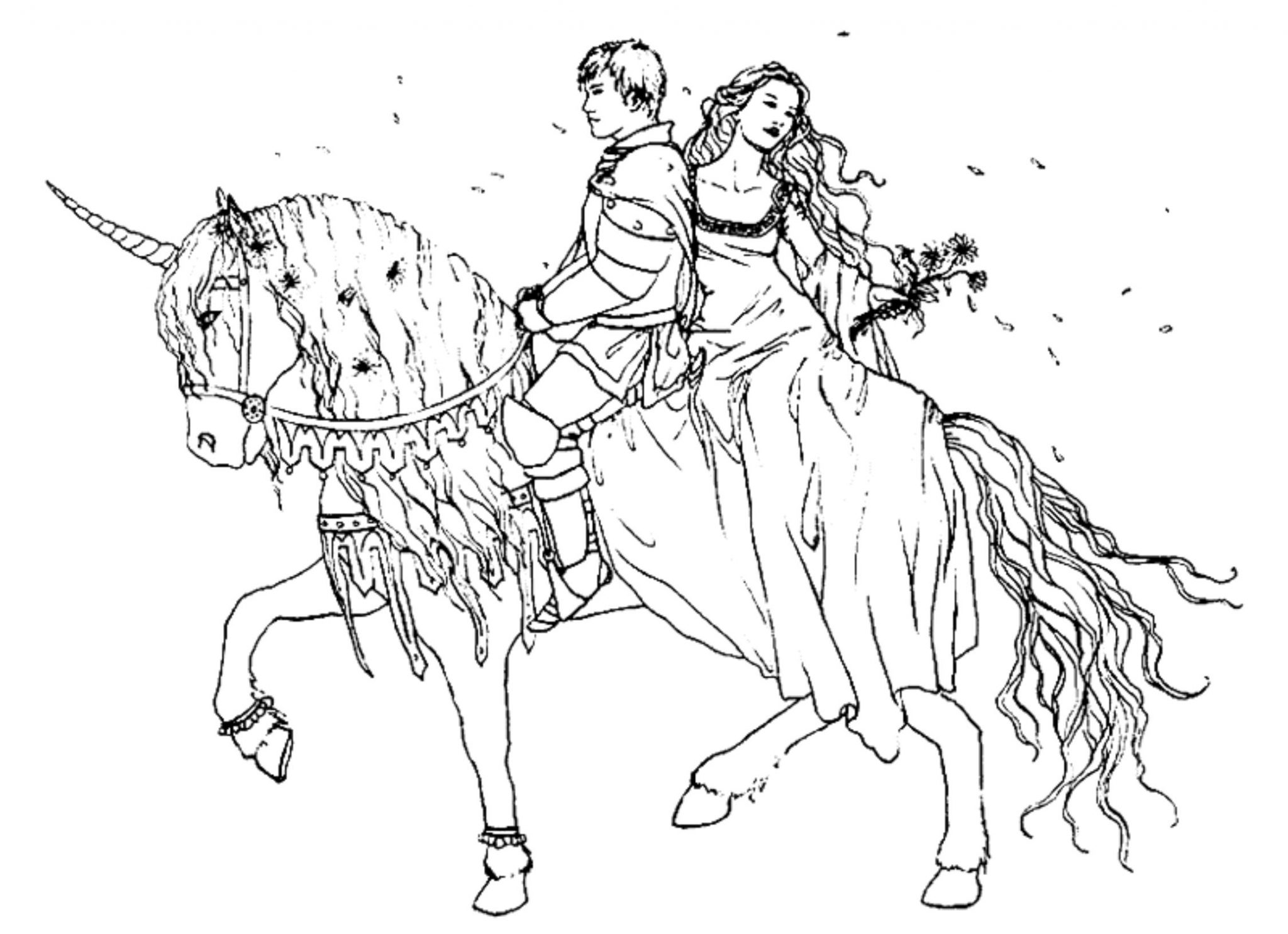 prince-princess-coloring-pages-to-print | | BestAppsForKids.com