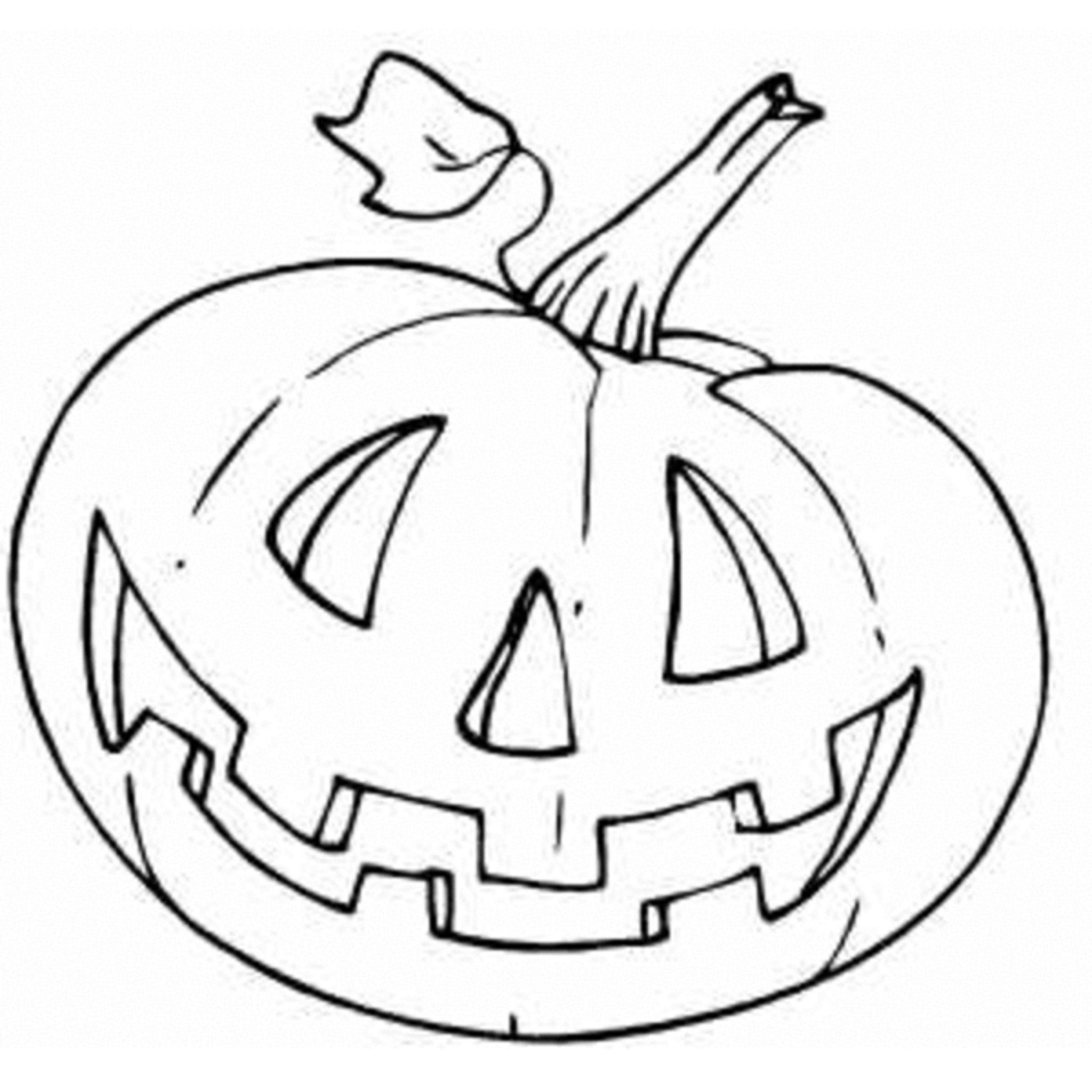 gallery of pumpkin coloring pages and benefits of drawing for kids - Pumpkin Coloring Template