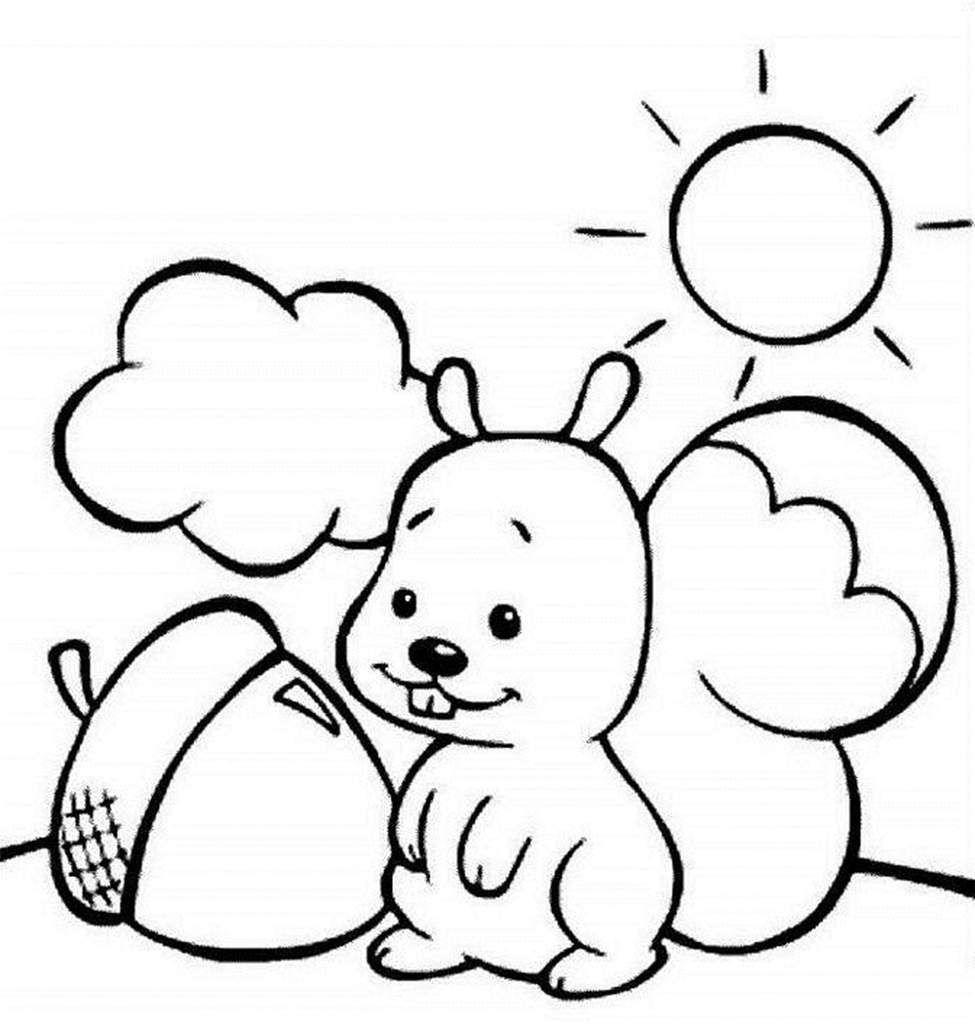 Print & Download - Fall Coloring Pages & Benefit of Coloring for Kids