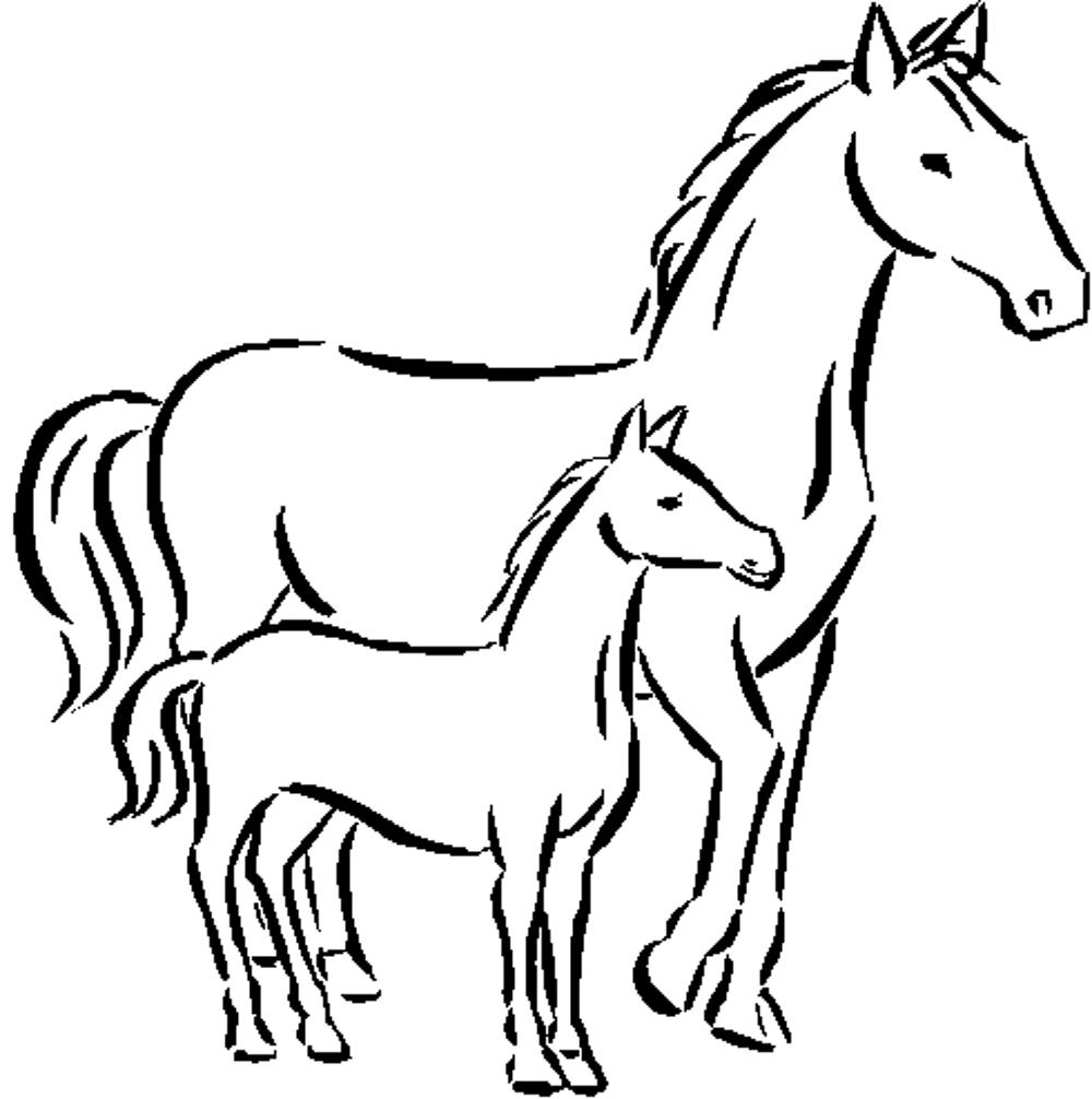 graphic about Printable Pictures of Horses referred to as Exciting Horse Coloring Webpages for Your Small children Printable