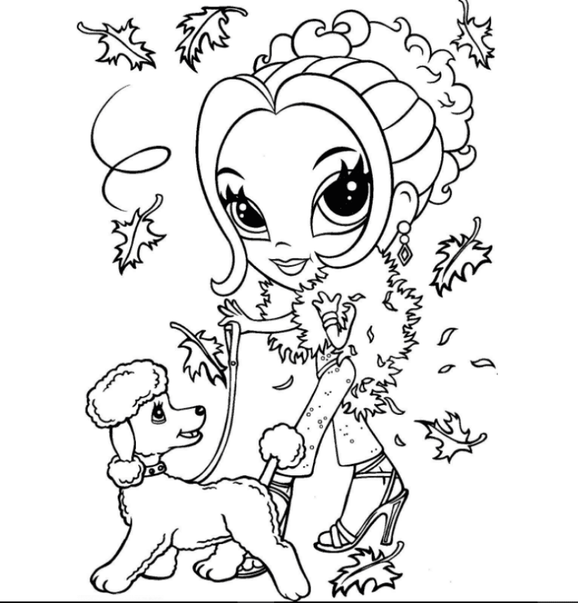 lisa franks coloring pages | Print & Download - Cross Your Imagination Colors with Lisa ...