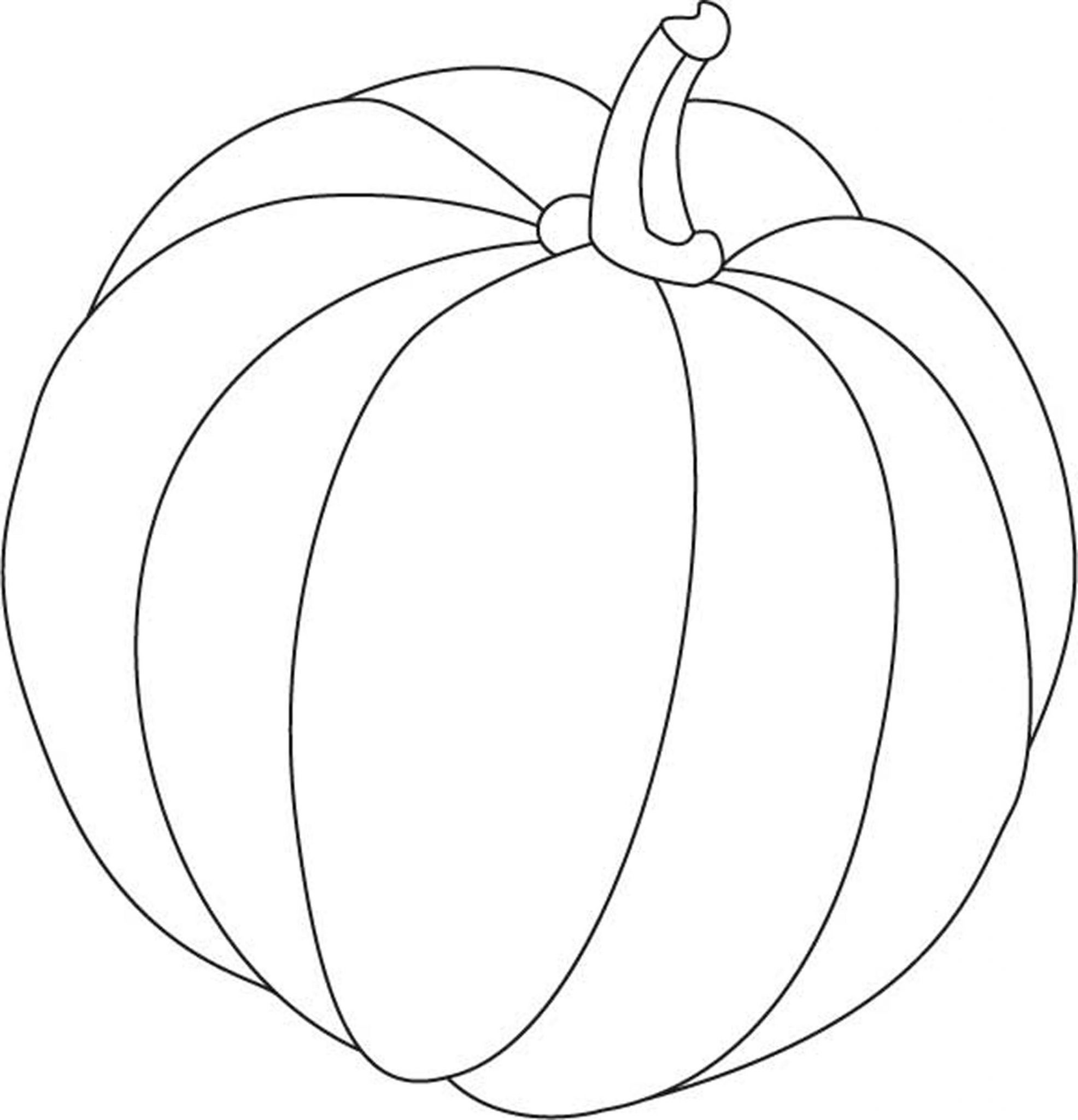 Print download pumpkin coloring pages and benefits of for Preschool pumpkin coloring pages