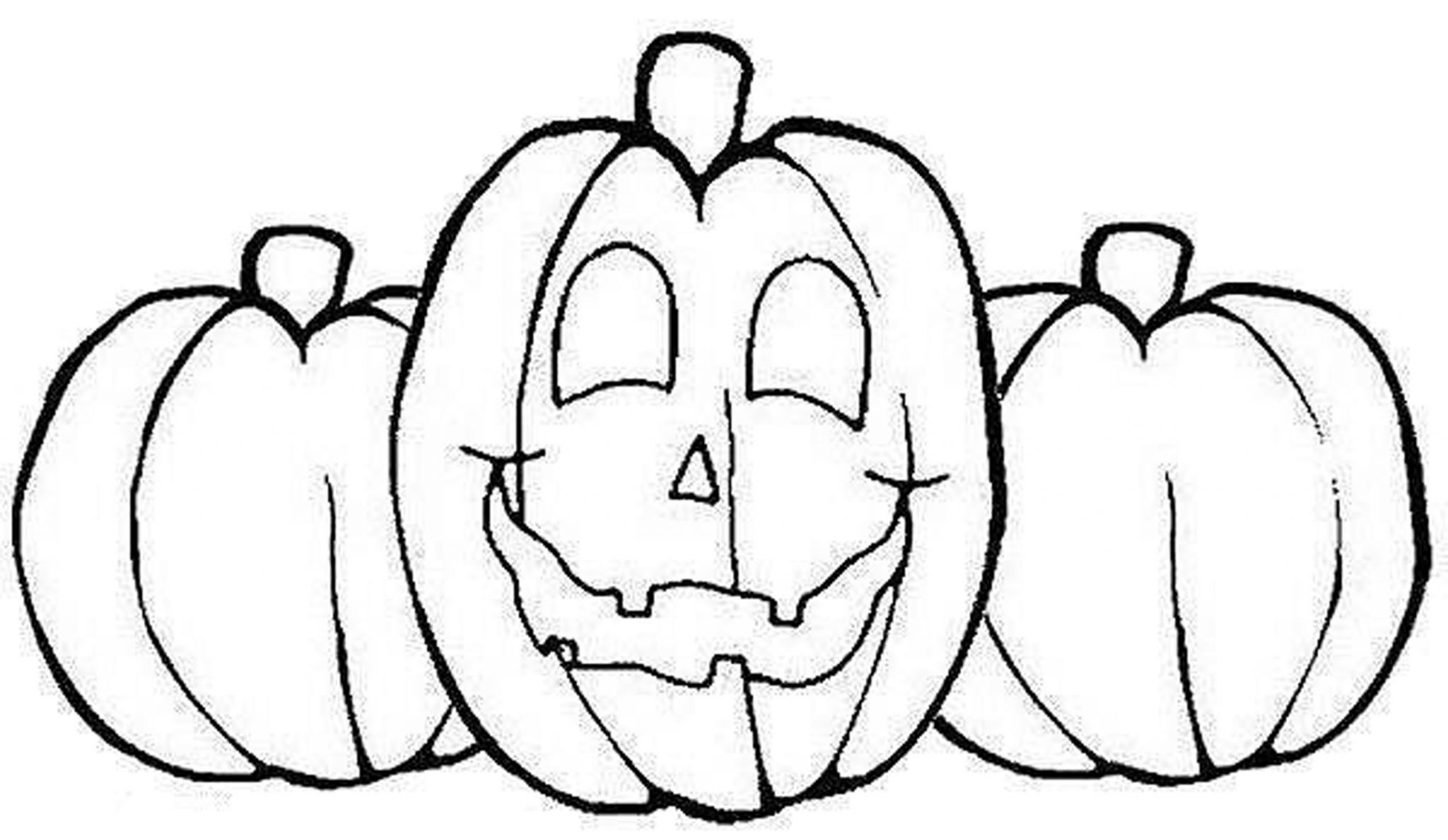 Pumpkin coloring pages printable for Pumpkin coloring pages free printable