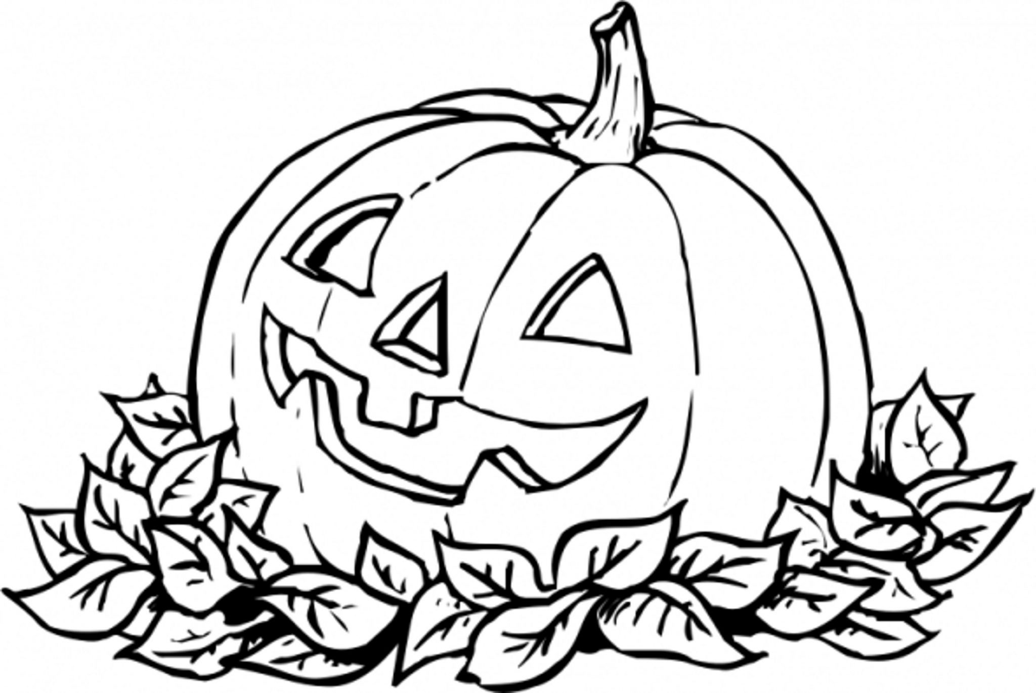 Print & Download - Pumpkin Coloring Pages and Benefits of Drawing ...