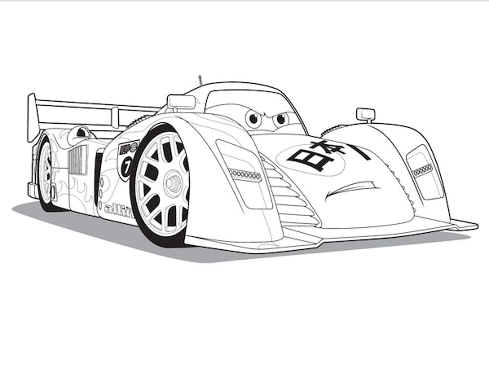 race car coloring pages. Black Bedroom Furniture Sets. Home Design Ideas