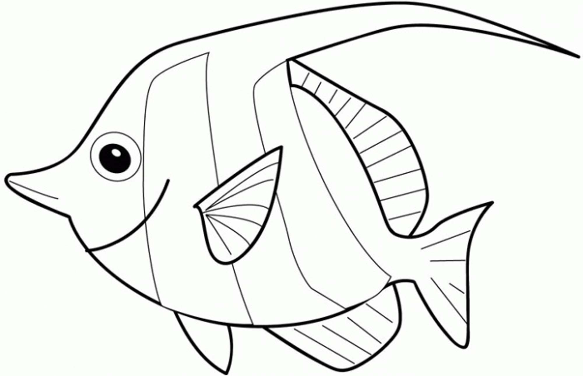 shop related products - Rainbow Fish Coloring Pages