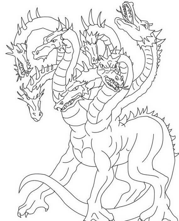 Printable coloring pages of realistic dragons ~ realistic-dragon-coloring-pages | | BestAppsForKids.com