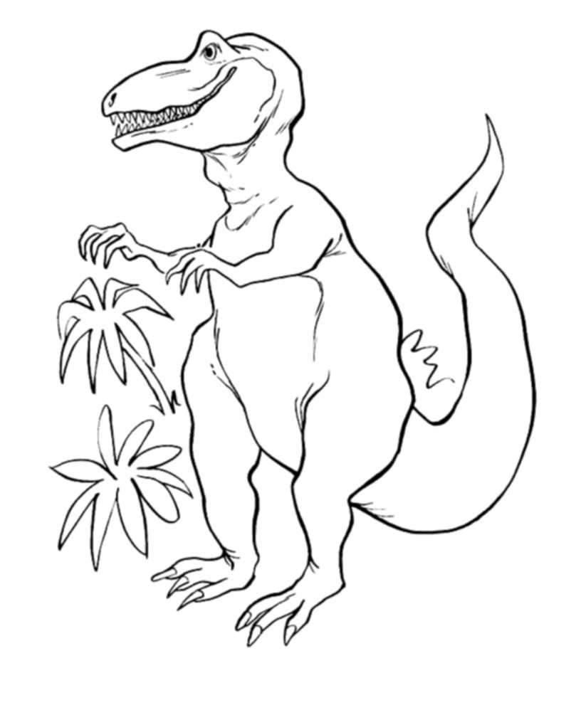 realistic-t-rex-coloring-pages | | BestAppsForKids.com