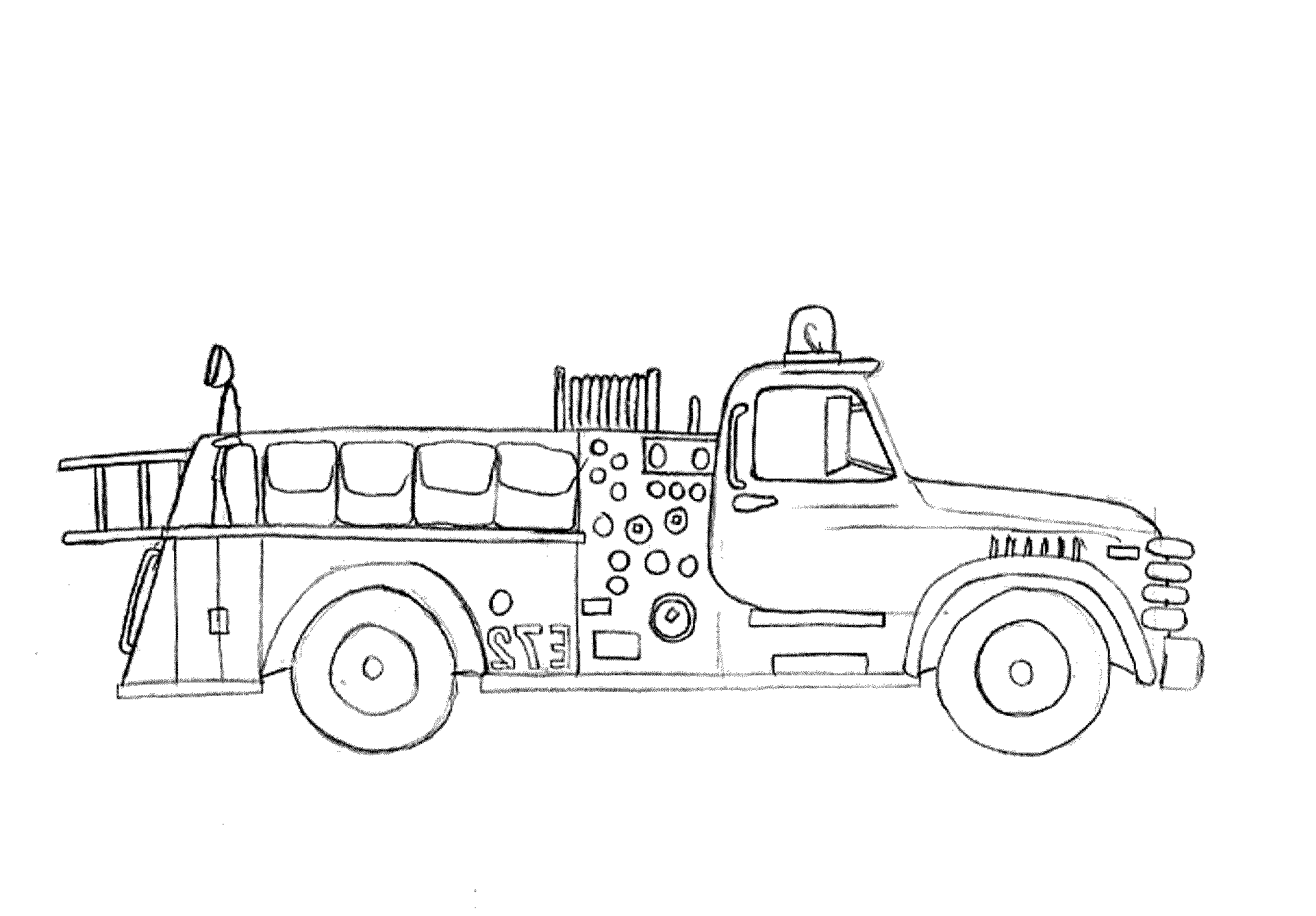 simple-fire-truck-coloring-pages | | BestAppsForKids.com