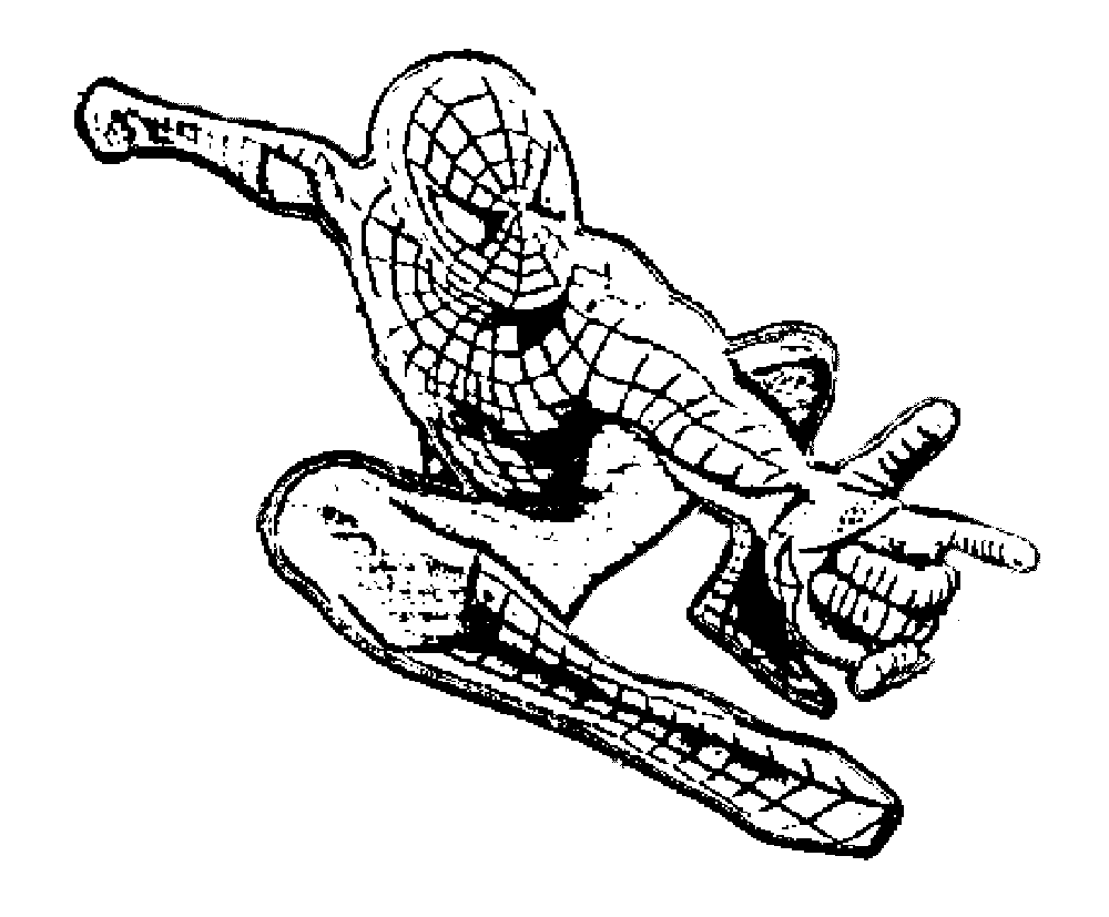 Print download spiderman coloring pages an enjoyable for Disegni da colorare spiderman 3