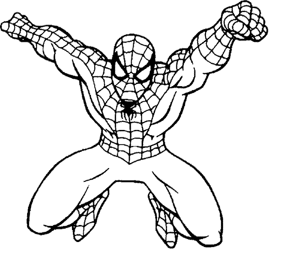 shop related products - Spiderman Coloring Pages Free
