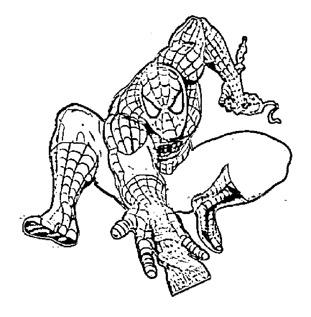 Print & Download - Spiderman Coloring Pages: An Enjoyable ...