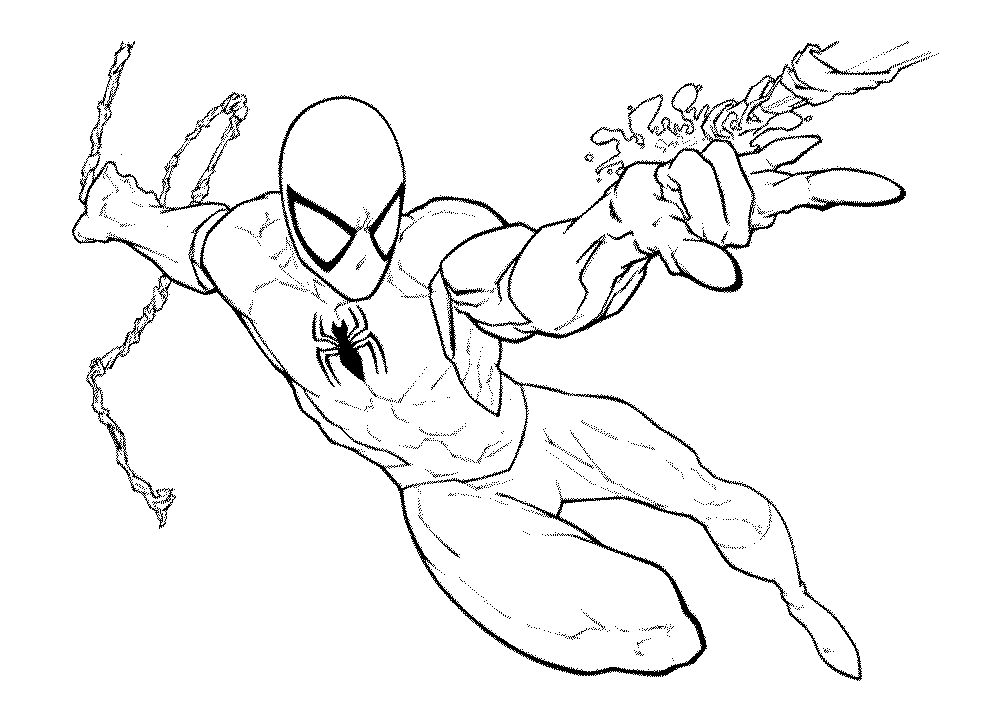 Spiderman Venom Printable Spiderman Coloring Pages