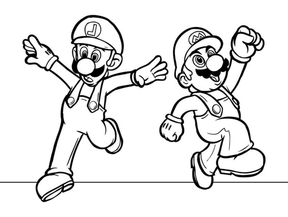 super mario bros coloring pages BestAppsForKidscom