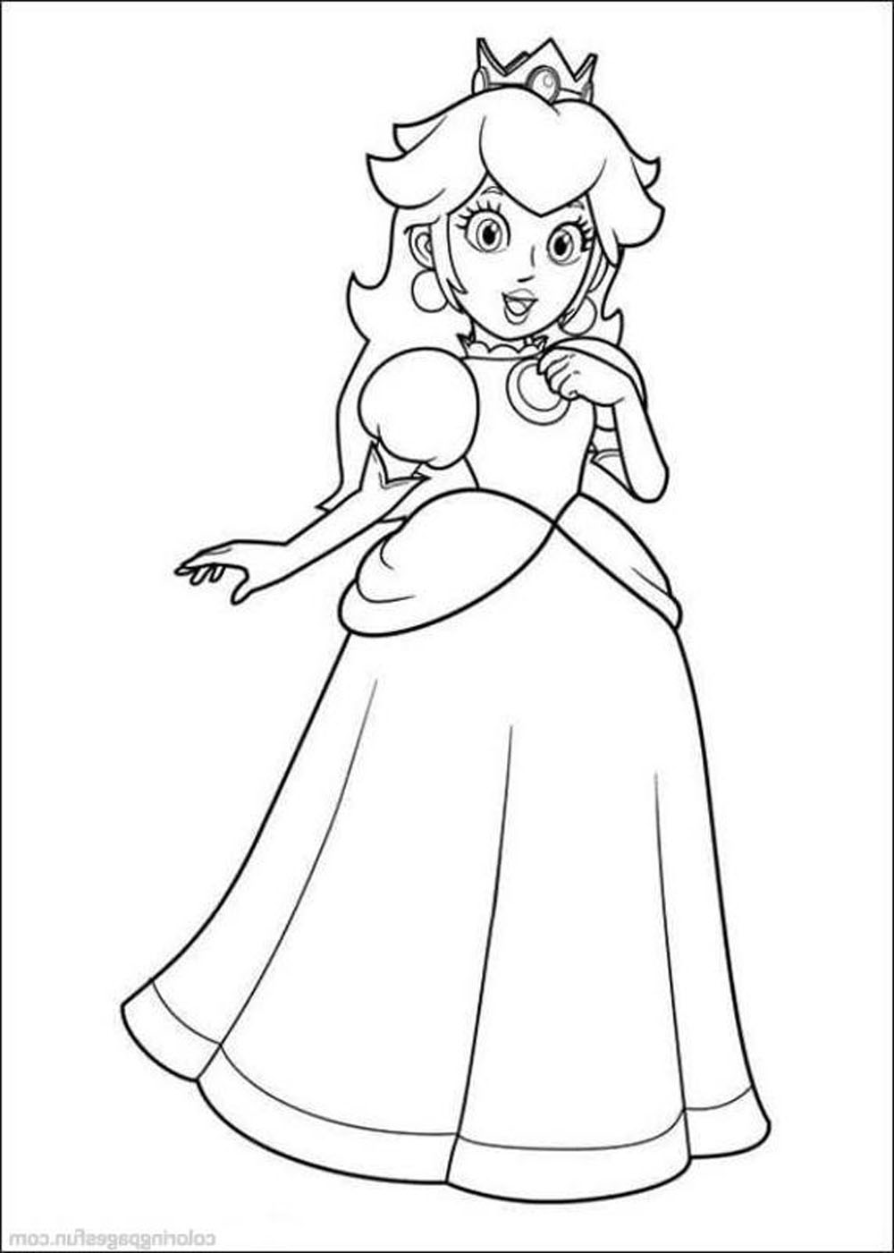 Paper Mario Online Coloring Pages Index Super Bros On Shop Related Products