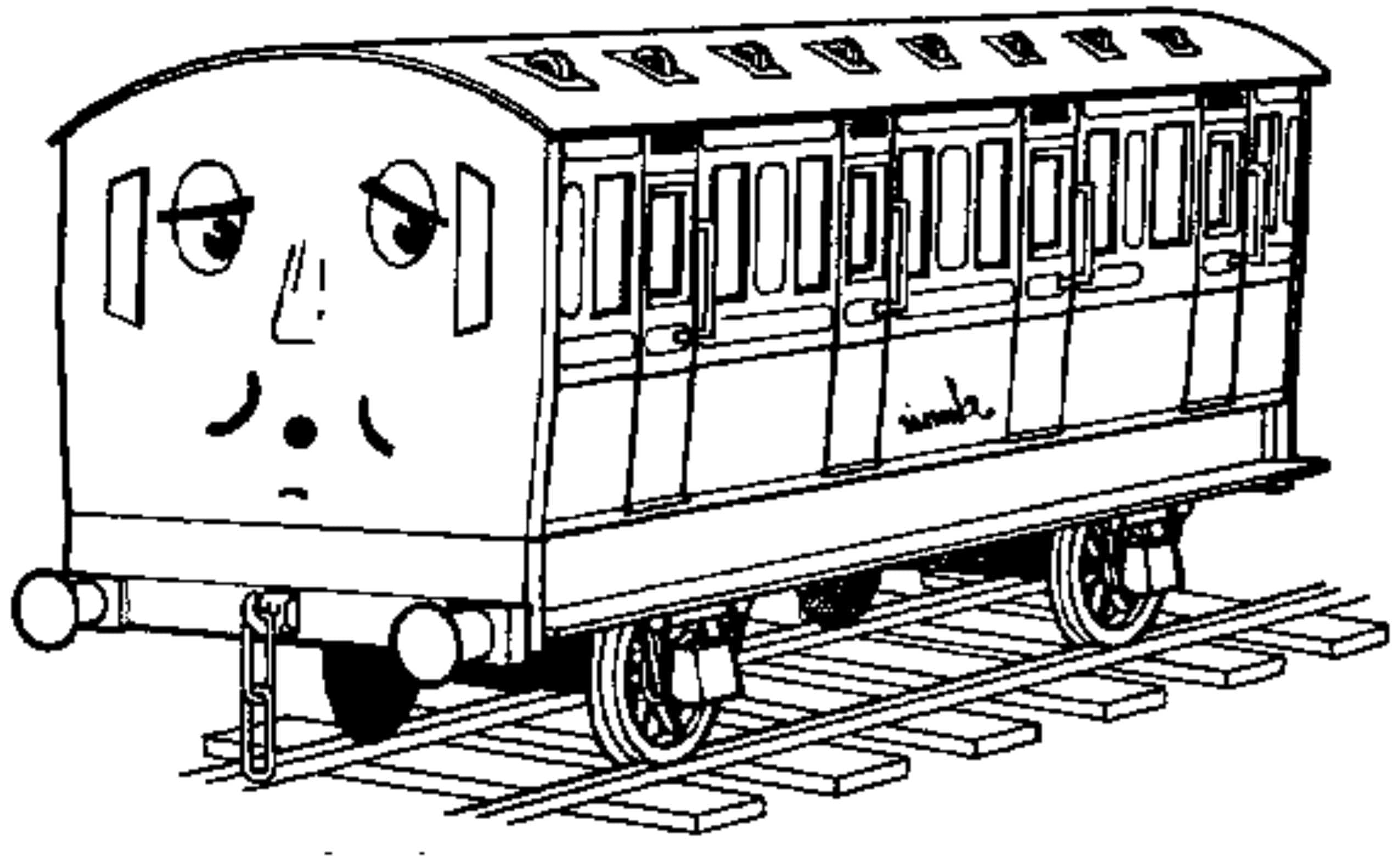 thomas and friends coloring pages printable - Thomas Friend Coloring Pages