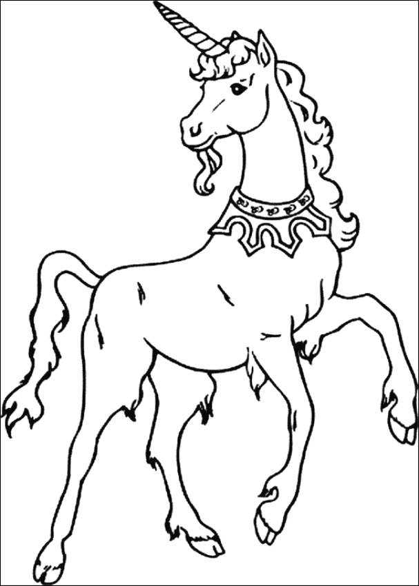 Print & Download - Unicorn Coloring Pages for Children