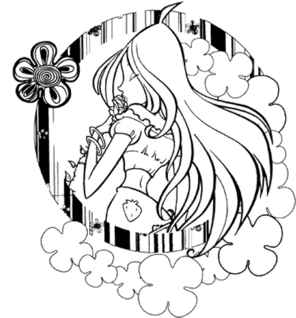 Print  Download  Winx Club Coloring Pages Popular Stories of