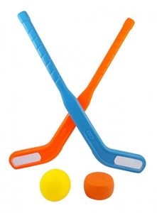 Face Off Dual Hockey Sticks Sports Set