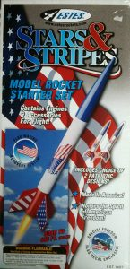 Estes Stars & Stripes Model Rocket Starter Set