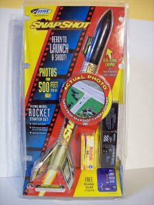 Estes Super Shot Flying Rocket Starter Kit Set