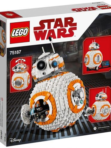 LEGO-Star-Wars-VIII-BB-8-75187-Building-Kit