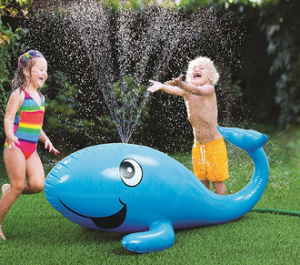 Giant Inflatable Whale Sprinkler