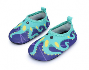 JIASUQI Baby Boys and Girls Barefoot Swim Shoes