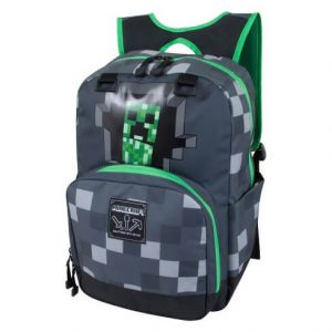 JINX-Minecraft-Creepy-Creeper-Kids-Backpack-