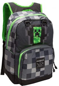 Minecraft Creepy Creeper Backpack