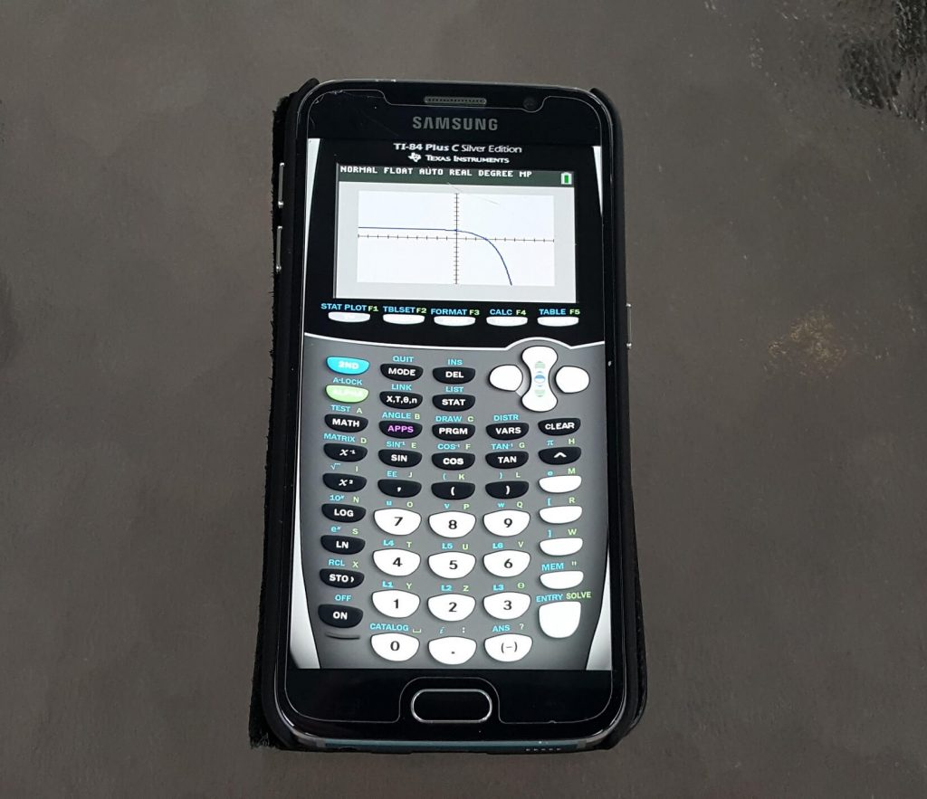 Modern mobile devices can pack all of the power of a scientific calculator.