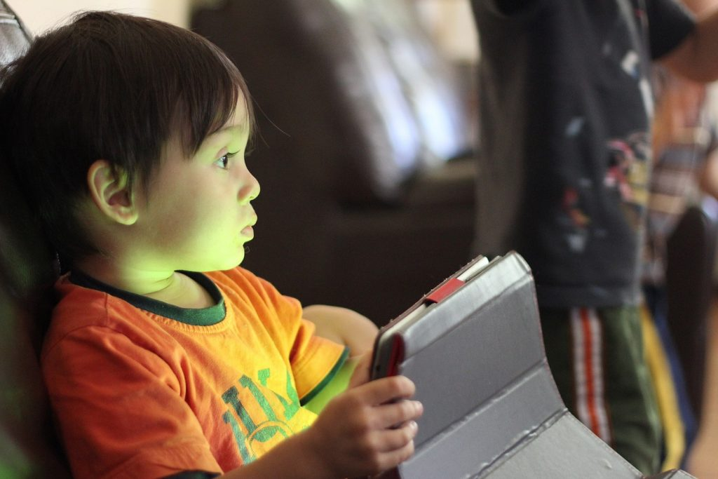 Very young children need a lot of help to use YouTube.