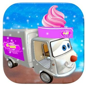 3D Snow Ice Cream Kids