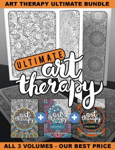 Adult Coloring Book - Ultimate Art Therapy