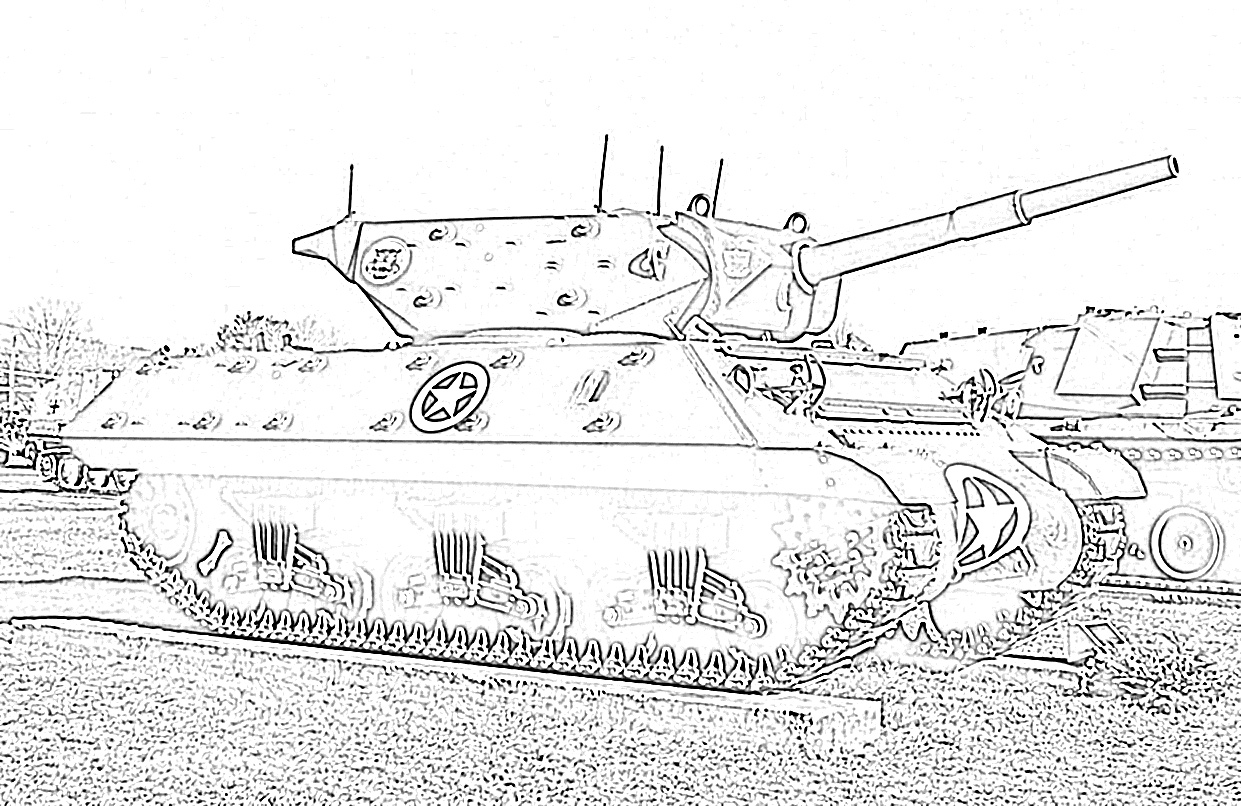 9 Free Army Tank Coloring Pages for Kids | Save, Print ...