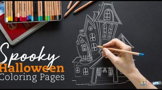 Free Spooky Halloween Coloring Pages