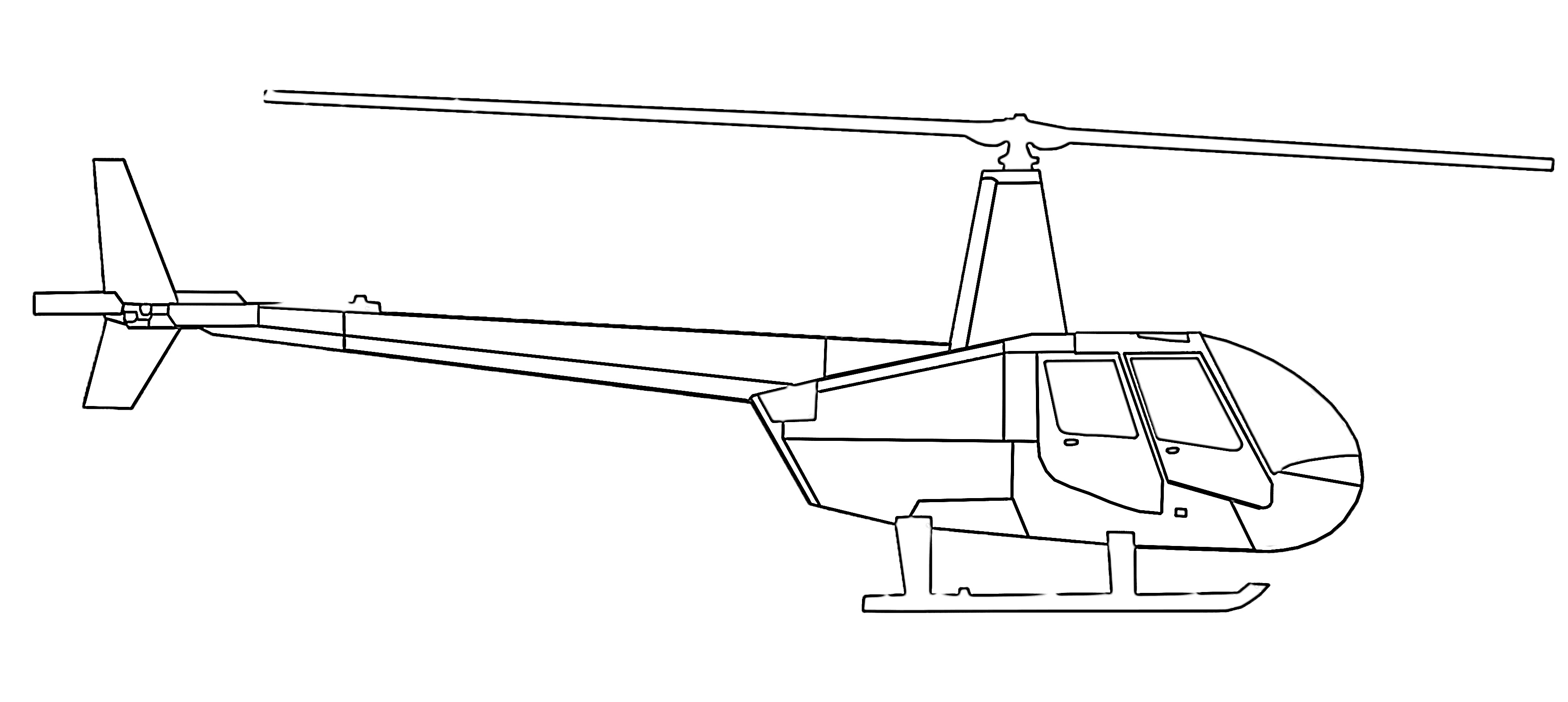 8 Free Helicopter Coloring Pages For Kids Save Print