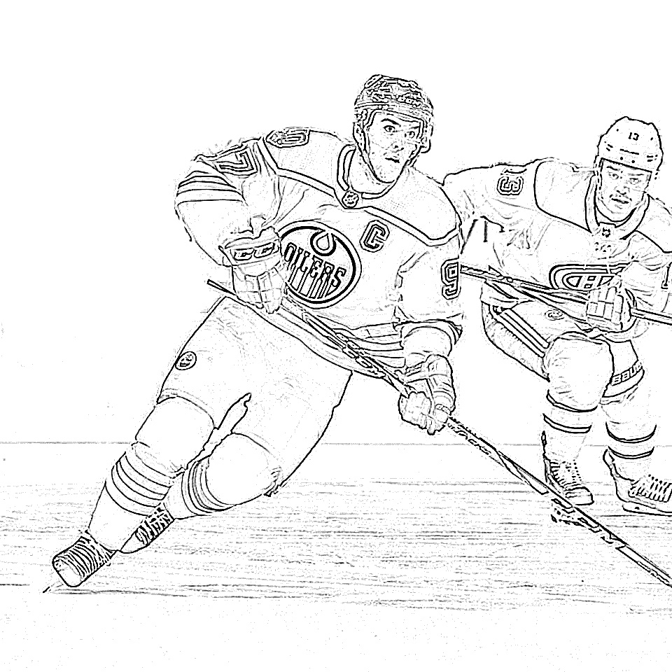 11 Free Hockey Coloring Pages for Kids | | BestAppsForKids.com