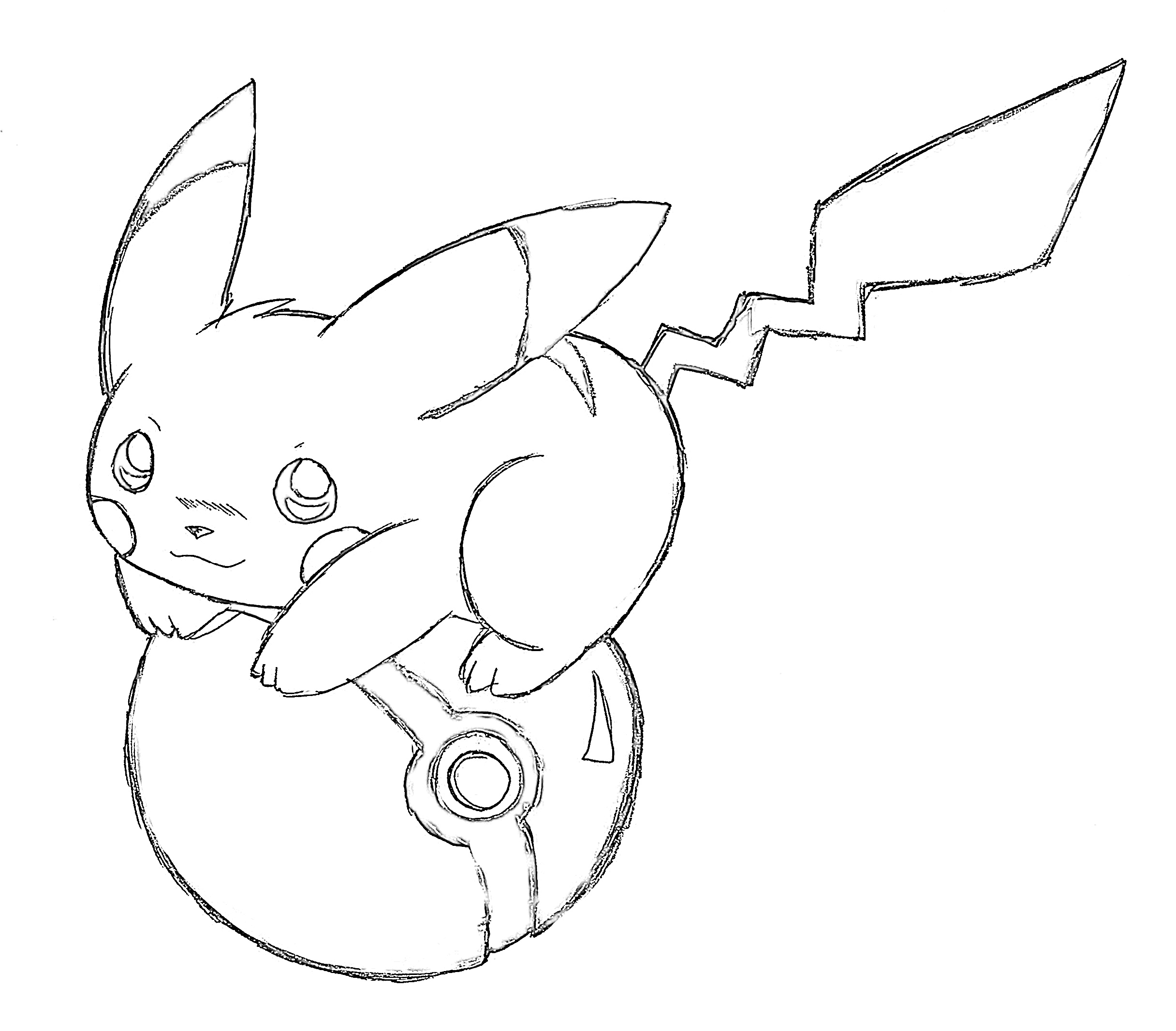10 Free Pikachu Coloring Pages
