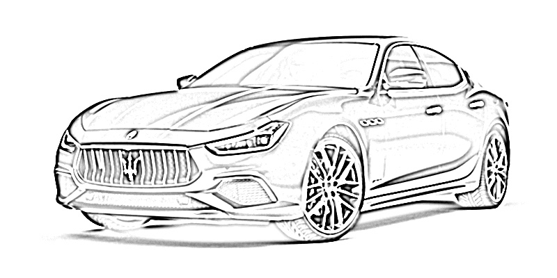 17 free sports car coloring pages for kids | save, print